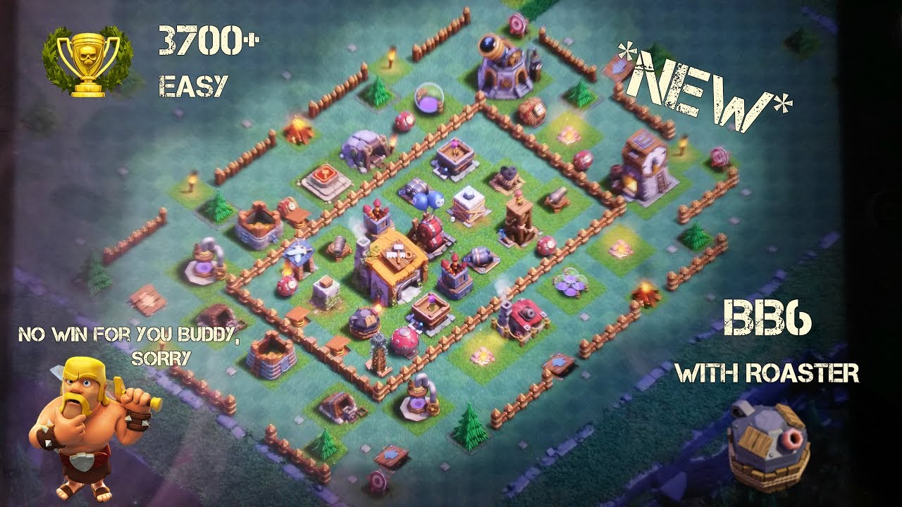 Clash Of Clans Builder Hall 6 Best Th6 Best Builder Base