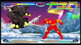 Marvel vs Capcom 2 Gameplay by Hawke525