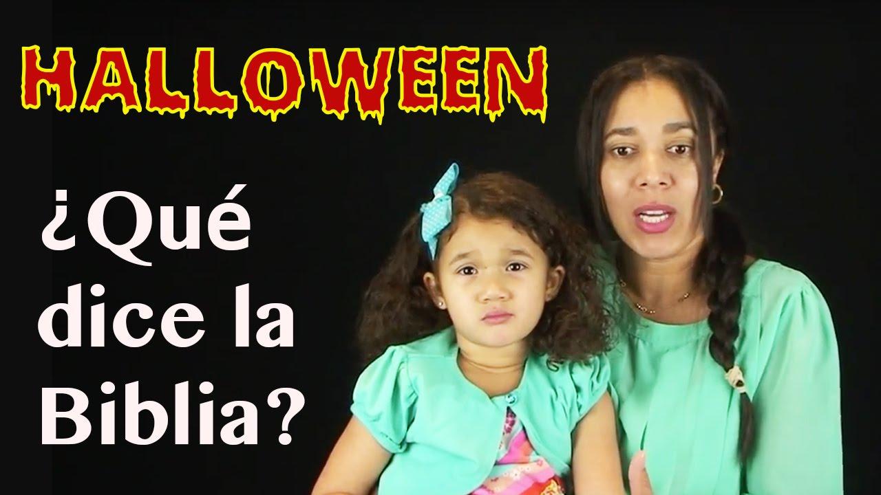 Halloween ¿Qué dice la Biblia? ¿Bueno o malo? INCREIBLE TESTIMONIO DE UNA NIÑA