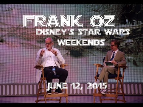 FULL SHOW Jun 12 A Conversation with Frank Oz at Star Wars Weekends 2015 Disney's Hollywood Studios