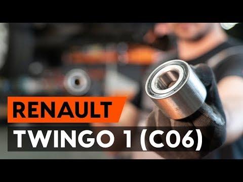 How To Replacerear Wheel Bearing/ Rear Hub Bearing On RENAULT TWINGO 1 (C06)  [TUTORIAL AUTODOC]