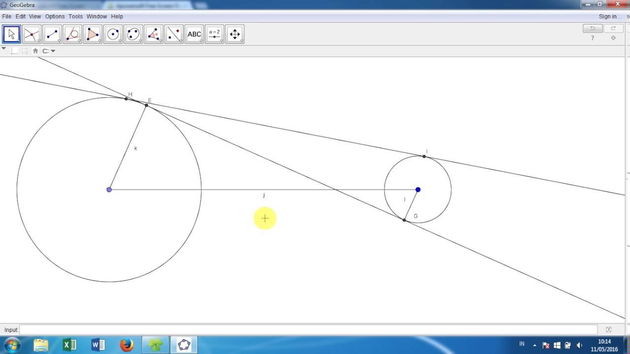 Garis singgung persekutuan dalam lingkaran youtube garis singgung persekutuan dalam lingkaran ccuart Choice Image