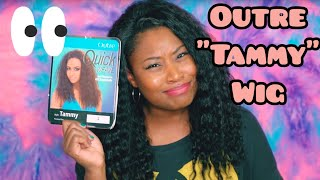 """SO UNDERRATED?! OUTRE """"TAMMY"""" HALF WIG! (WIG WEDNESDAY #12)"""