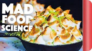 Matcha Green Tea Baked Alaska Recipe | Big Night In