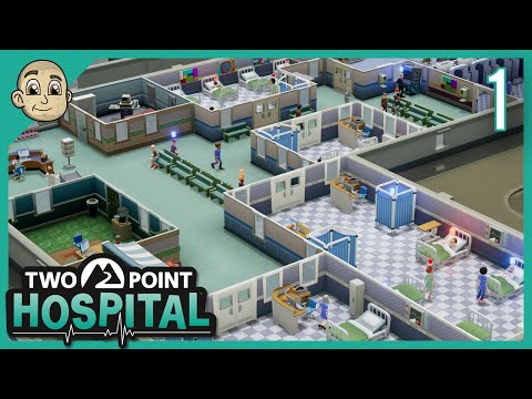 Two Point Hospital - Ep. 1 - Will We Create The Next Big Virus? - Letu0027s Play Two Point Hospital