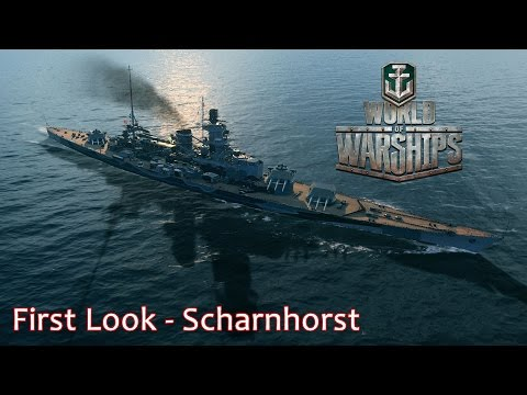 Scharnhorst First Look - World of Warships