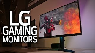 LG's New Gaming Monitors!
