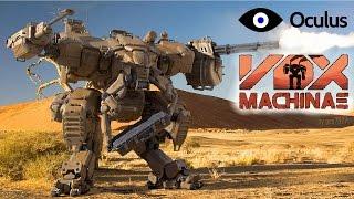VOX MACHINAE на Oculus Rift DK2 Мех симулятор