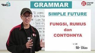 Download lagu Simple Future Tense: Fungsi, Rumus dan Contoh | TEATU with Mr Diaz - Kampung Inggris LC
