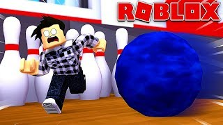 GETTING OUT OF THE WORLD'S WORST BOWLING ALLEY! Roblox