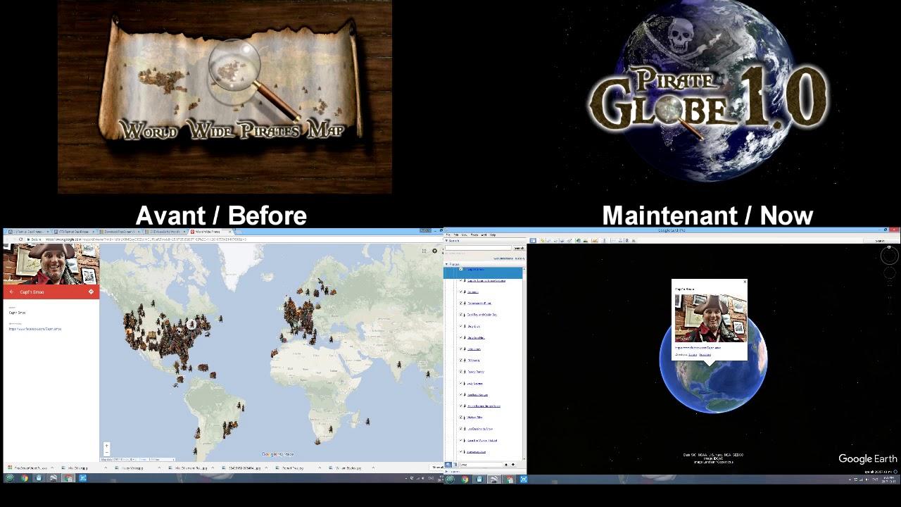 Pirate Globe 1.0