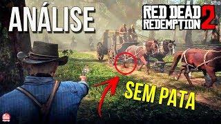 RED DEAD REDEMPTION 2 - ANÁLISE DETALHADA DO 2º TRAILER DE GAMEPLAY