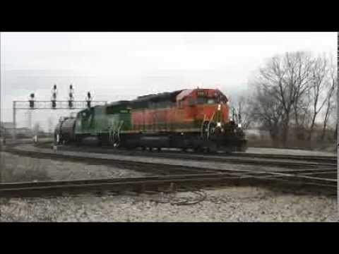 Railfanning 55th St, Hayford and Wrightwood, Chicago, 011013: CP, BRC, NS, CSX & BNSF