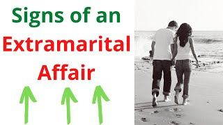 Proven Signs of an Extramarital Affair