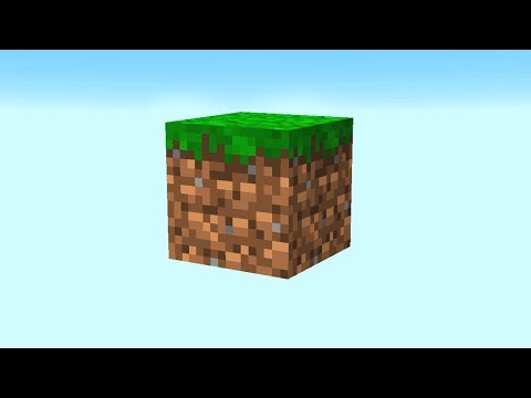 PLAYING MINECRAFT WITH ONLY 1 BLOCK.