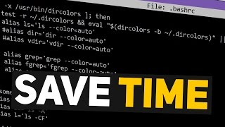 Linux Time Saving Tip: Use Bash Aliases For Commands!