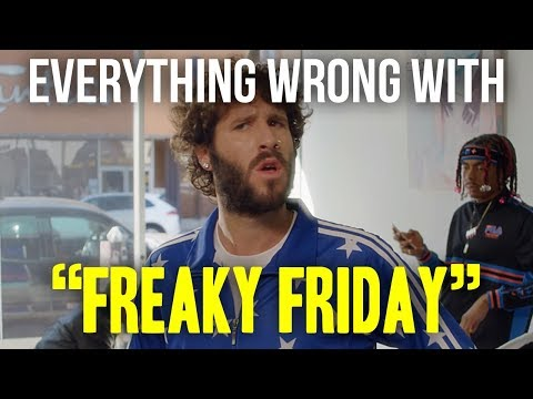 "Everything Wrong With Lil Dicky - ""Freaky Friday"""