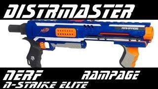 Обзор Nerf - N-Strike - Rampage (Нерф Рампейдж)