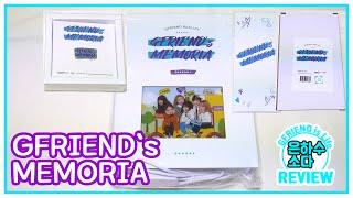 [리뷰] 여자친구(GFRIEND) GFRIEND`s MEMORIA 기념 굿즈