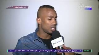 صالح موسى: الحكم اعتذر لي على ركلة الجزاء... ونجحت فى رقابة شيكابالا