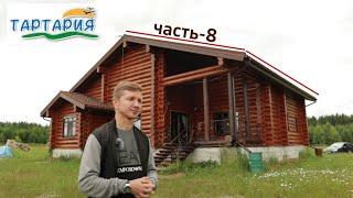 Шлифовка, покраска и герметизация деревянного дома.
