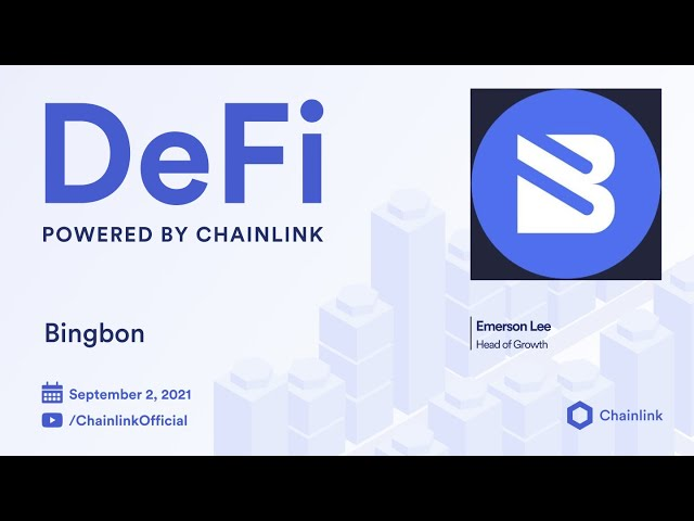 Bingbon on Chainlink Live | Decentralized Prices in a Social Trading Application