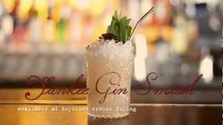 Keystone World Cocktail Week 2012 - The Yankee Gin Smash