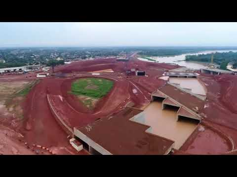 Construction in Ouagadougou (Échangeur du Nord Ouagadougou)