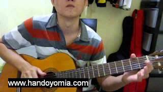 挪威的森林 Nuo Wei De Sen Lin - 伍佰 Wu Bai - Fingerstyle Guitar Solo