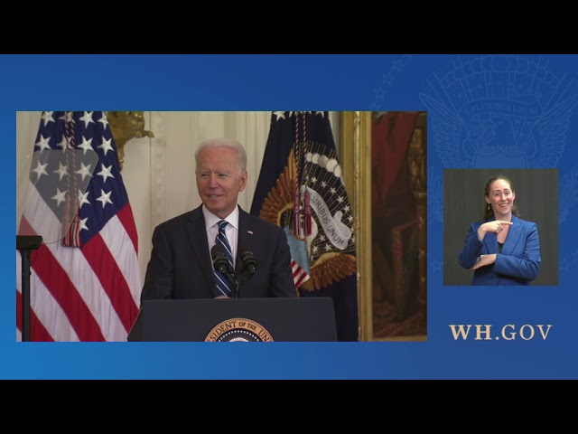 President Biden Participates in a Naturalization Ceremony