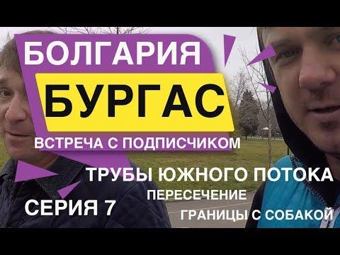 БУРГАС Цены на АВТО Встреча с подписчиком Пересечение границ с собакой. Болгария