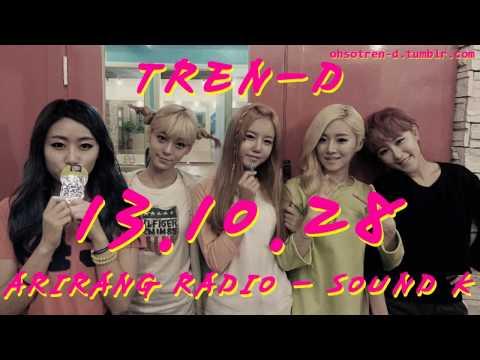 131028 트랜디(TREN-D) ARIRANG RADIO SOUND K
