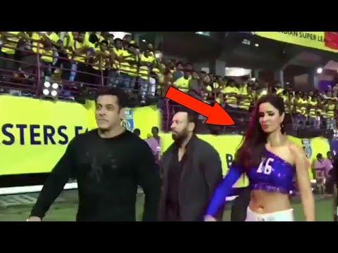 Funny Moments Katrina Kaif Copy Salman Khan's Walking Style