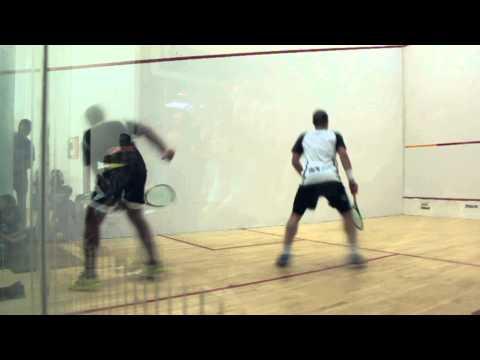 Gregory Gaultier vs Amr Shabana - Edmonton Squash Exhibition - Final