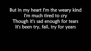The Gaslight Anthem - Drive (with lyrics)