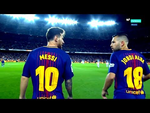 Lionel Messi & Jordi Alba ● The Most Lethal Connection In Football ► Amazing Duo 2017-2018