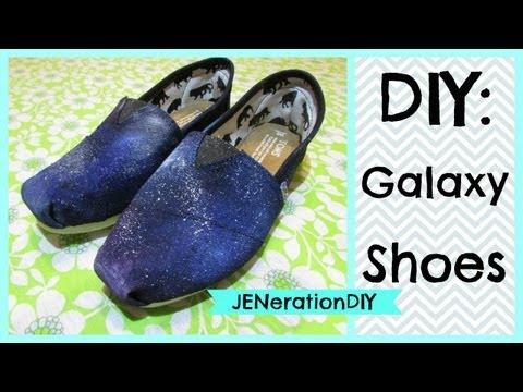 DIY: Galaxy Shoes (JENerationDIY first video)