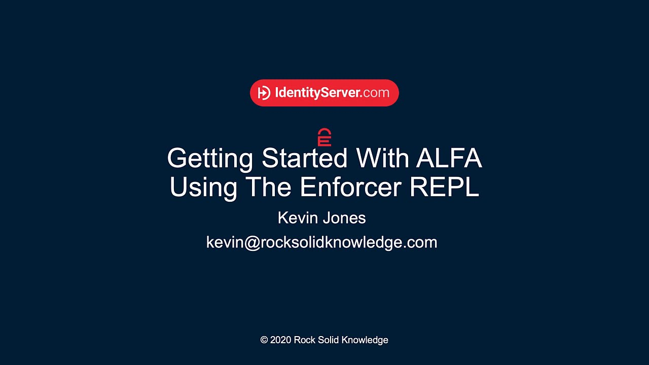 Writing human readable authorization policies with ALFA
