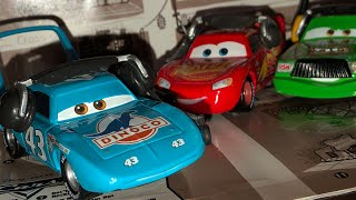 Disney Pixar Cars 3 The King With Headset Custom Diecast Review • Strip Weathers The Crew Chief 👑