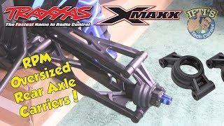 #04 Traxxas X-MAXX 8S - RPM Oversized Rear Axle/Hub Carriers - INSTALL