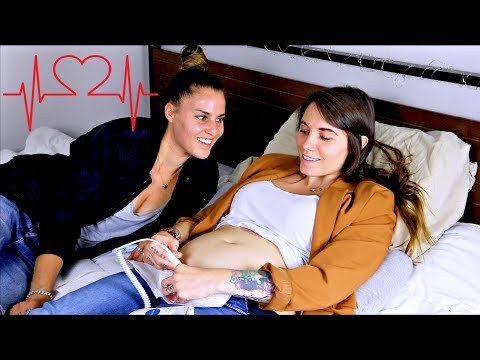 HEARING OUR DAUGHTERS HEARTBEAT!!! | Lesbian Couple | | Sam&Alyssa from YouTube · Duration:  4 minutes 29 seconds