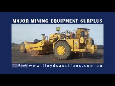 Major Mining Equipment Surplus Auction - QLD, Australia