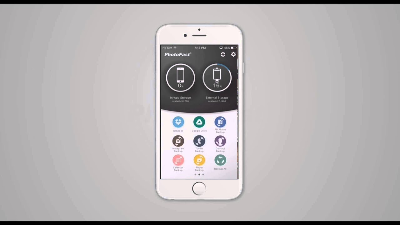 Photofast one app tutorial youtube baditri Choice Image