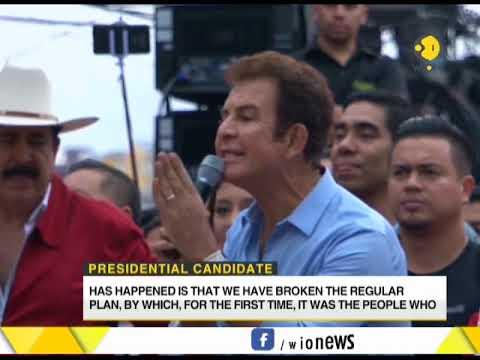 Honduras Presidential Election: Salvador Nasralla leading by 5 points