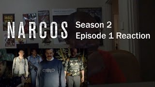 "Narcos Season 2 Episode 1 ""Free At Last"" REACTION"