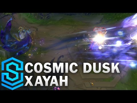 Cosmic Dusk Xayah Skin Spotlight - Pre-Release - League of Legends