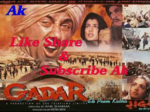 Gadar Movie Backergraund Love Music Ringtone Ak