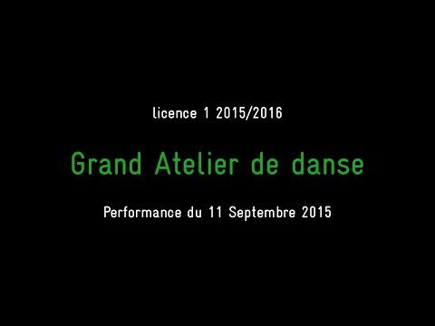 ensanantes - Grand Atelier de Danse 2015