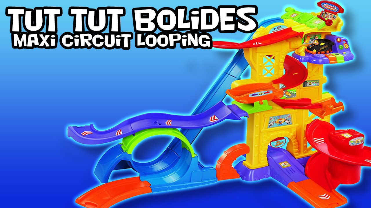 tut tut bolides maxi circuit looping youtube. Black Bedroom Furniture Sets. Home Design Ideas