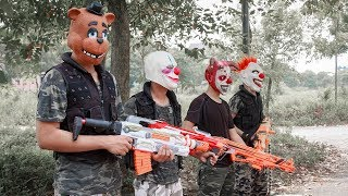 MASK Nerf War : Special Task Warrior Alpha Nerf Guns Fight With Criminal Group Mask